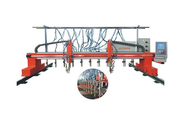 Heavy gantry CNC cutting machine