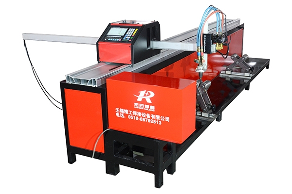 Pipe intersecting line cutting machine