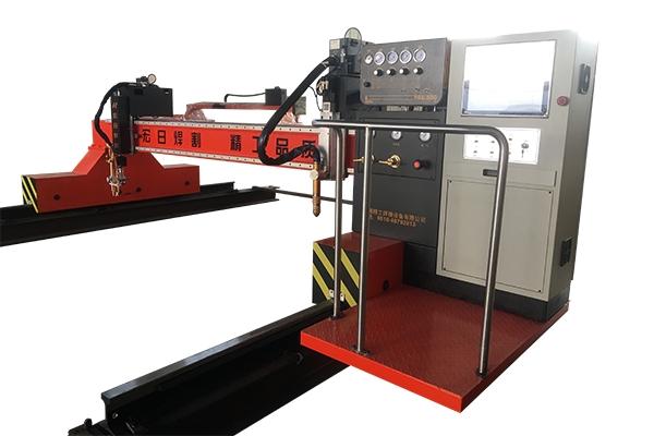 Laser plasma cutting machine